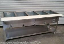 Well Gas Steam Table Sneeze Guard Water Bath New Ideal - 4 well gas steam table