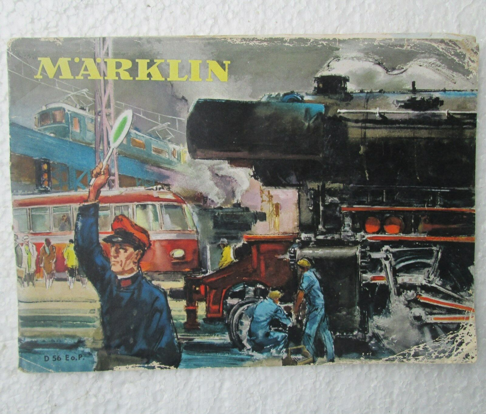 Marklin Catalog 1956 First Year FM 800 includes Erector Sets & Autos