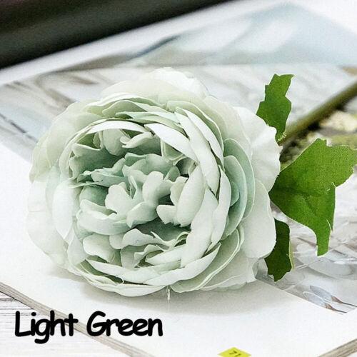 Arrangement Home Decor Artificial Flower Silk Rose Peony  Simulation Plants