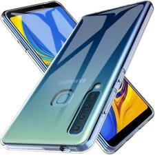 best service 102ab 8c54b for Samsung Galaxy A9 (2018) Case Clear Silicone Slim GEL Cover Shockproof