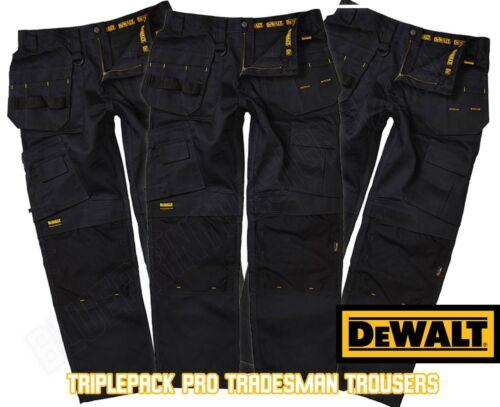 Pro Dewalt Work Black Size 42 30 da Tradesman 30 Multipack Black Multipack Size Waist 42 Waist Pantaloni Tradesman Dewalt Pro lavoro Trousers ZP4wxIq