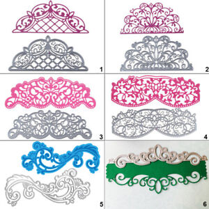 Arc hollow Lace Metal Cutting Dies Stencil DIY Scrapbooking Card Embossing Craft