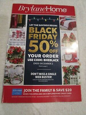 Brylane Home Catalog Look Book December 2020 Come To Value Brand New Ebay