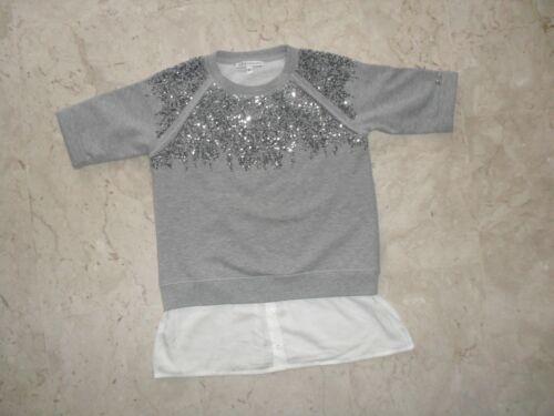 T-shirt  Maglia Felpa  PATRIZIA PEPE   Orig. Tg. 14/15  anni con Paiettess