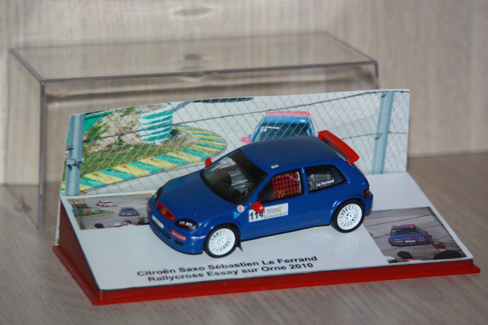Citroën Saxo  Kit Car  D1A Le Ferrand Rallycross Essay s  Orne 2010 e