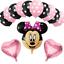 DISNEY-MICKEY-MINNIE-MOUSE-COMPLEANNO-PALLONCINI-BABY-SHOWER-SESSO-rivelare-Rosa-Blu miniatura 9