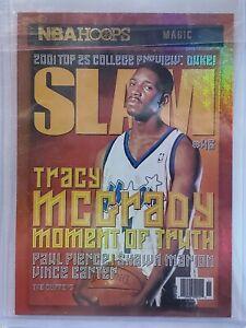 2020-21 NBA Hoops Tracy McGrady Slam Insert Red Foil Holo #20 Orlando Magic