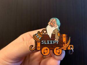 SLEEPY-Mine-Cart-100-Years-of-Dreams-LE-Pin-46-Snow-White-Disney-Pin