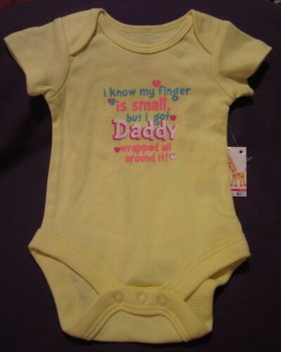 1st First Father/'s Day 4th of July Daddy/'s Wrapped Around My Finger Onesie NB-24