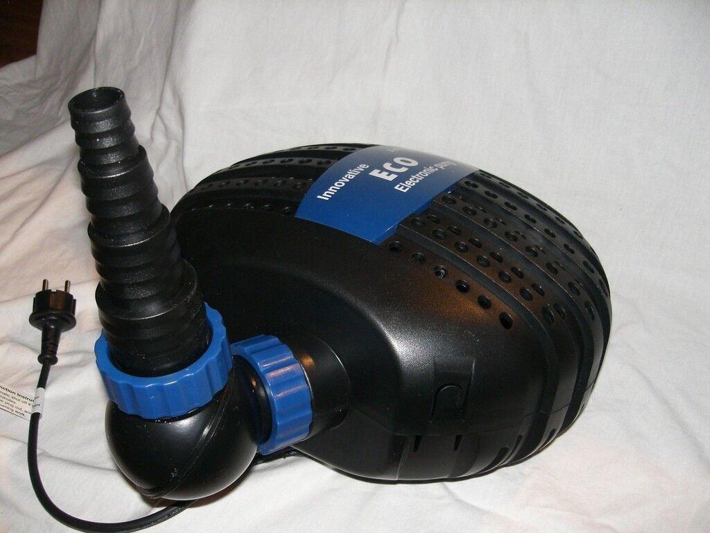 Jebao happet SuperEco elettronica POMPA PER LAGHETTO CON Brushlessmotor 5000 L H