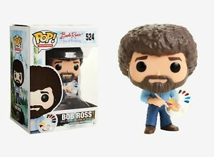 Funko-Pop-TV-Bob-Ross-the-Joy-of-Painting-Bob-Ross-Vinyl-Figure-Item-14813