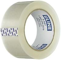 Uline Thick Packing Tape, 3.5 Mil Thick, 2 X 55 Yd, Crystal Clear, 6 Rolls (s-4