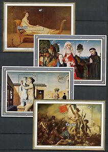 Rwanda-1982-MNH-Belgica-amp-Philexfrance-82-Int-Stamps-Exhibition-4x-1v-M-S-Art