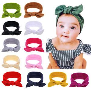 Newborn-Toddler-Kid-Baby-Girl-Bow-Headband-Headwear-Accessories-FREE-POST-AU