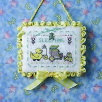 The Sweetheart Tree Baby Sleeping Limited Edition Cross Stitch Pattern Charm