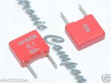 10pcs Wima Mks2 01uf 01f 100nf 63v 5 Pitch5mm Polyester Capacitor