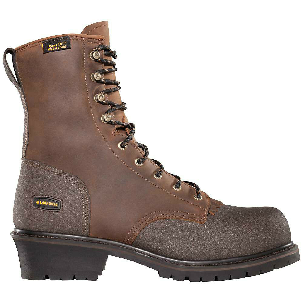 Lacrosse Extreme Tough Logger HD PT Men's Leather 8