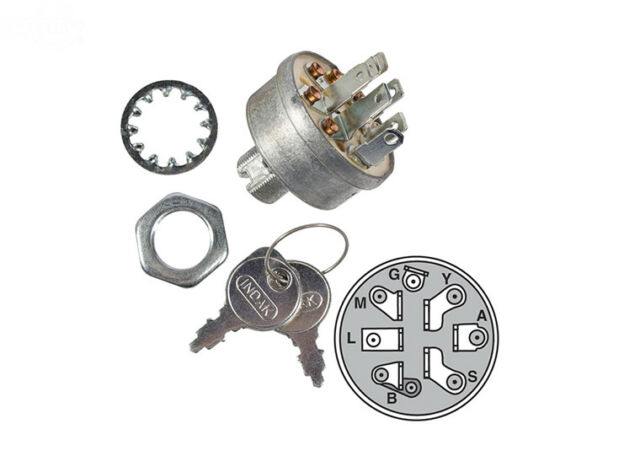 craftsman genuine oem mower ignition switch 140301 fits husqvarna poulan ayp