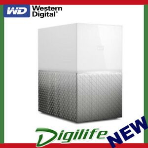 Details about WD My Cloud Home Duo 8TB (2x4) 2 Drive Personal Cloud NAS  RAID 1 White