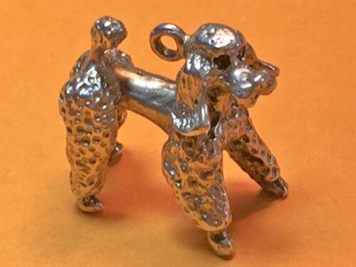 Vintage sterling silver charms DOGS Greyhound Setter Cocker Bulldog Corgi Hound