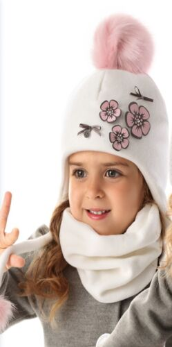 8 years Baby Girls Toddler Warm Winter Hat Christening Baptism Occasion 9 mths