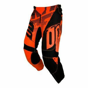 PANTALON-CROSS-SHOT-DEVO-fast-neon-orange-KID-12-13-ANS