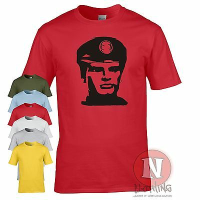 CAPTAIN SCARLET t-shirt Spectrum Mysterons cult sci fi retro TV Tshirt