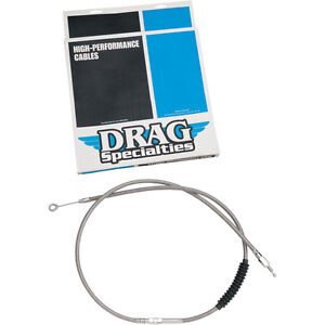 """Braided  0652-1493 Drag Specialties 68 11//16/"""" Stainless Steel Clutch Cable"""