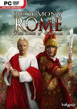 Hegemonía Roma: Rise Of Ceasar (Pc Dvd) Nuevo Sellado