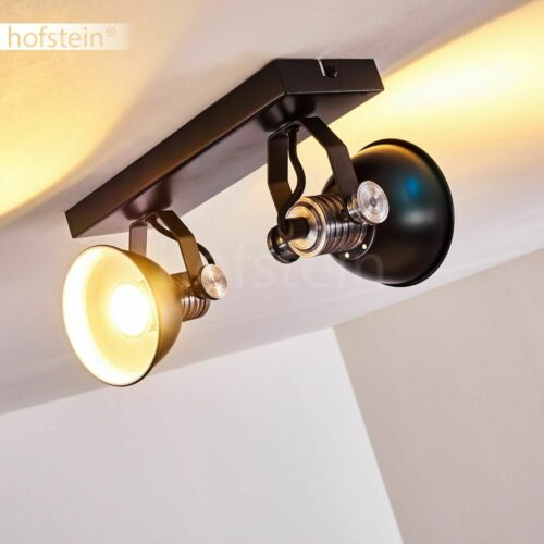 Vintage Decken Leuchten schwarz Flur Küchen Strahler Wohn Schlaf Zimmer Lampen
