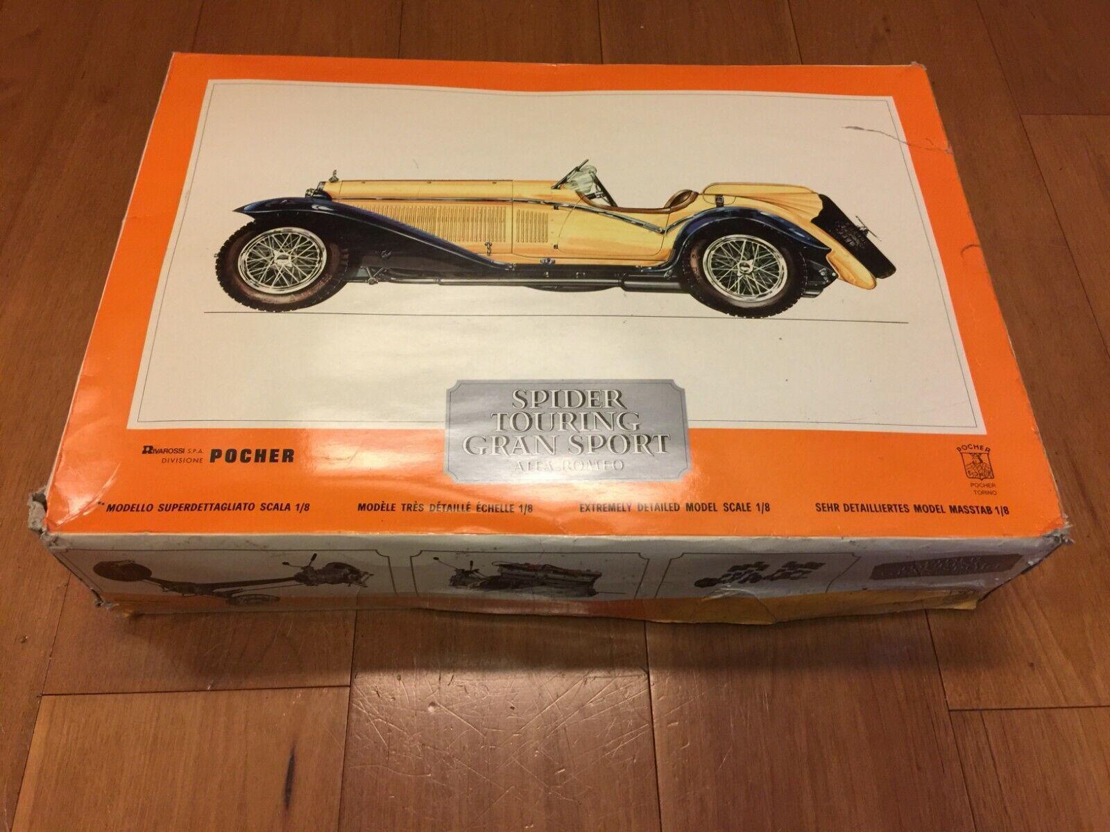 Envíos y devoluciones gratis. POCHER ALFA ROMEO spider touring gran sport sport sport 1976 scale 1 8 vintage rare  aquí tiene la última