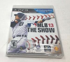Mlb 13 The Show Ps3 Playstation 3 New Sealed 711719984733 Ebay
