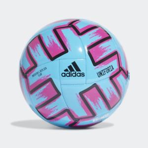 Adjuntar a Rusia flor  Adidas Euro 2020 Uniforia Palo Fútbol Bola Azul - Talla 5   eBay