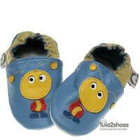NEW Tula2shoes SOFT LEATHER BABY BOYS SHOES  0-6 6-12 12-18 18-24 M