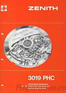 CALIBRO-ZENITH-EL-PRIMERO-3019-PHC-ROLEX-DAYTONA-4030-MANUALE-PER-OROLOGIAI