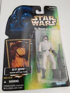 "New Kenner Star Wars Power Of The Force 3.75/"" Rebel Fleet Trooper Figure Sealed"