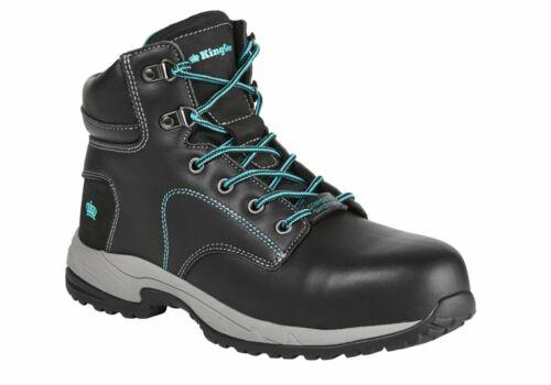 WorkWearZone King Gee  Tradie Zip Work Boots Womens