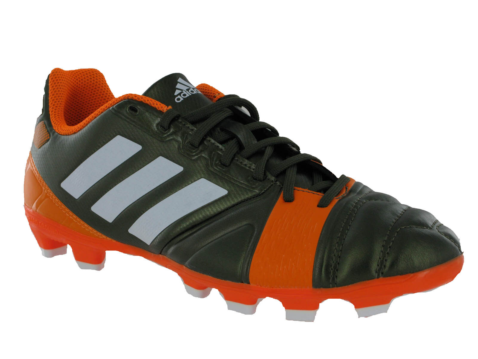 Adidas Nitrocharge 3.0 TRX HG Leather Lace Up Mens Football Boots Trainers