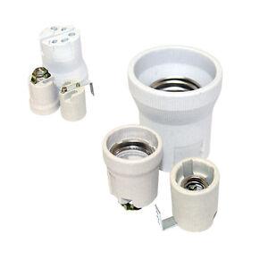 Fassung-Porzellan-Keramik-E14-E27-E40-Sockel-LED-Buegel-Winkel-Lampenfassung
