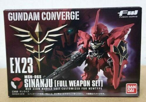 BANDAI FW GUNDAM CONVERGE EX 23 SINANJI FULL WEAPON SET