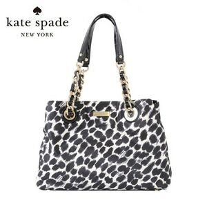Chain Tote Maryanne Ocelot Authentieke Kate Printed Purse295Zeldzaam Spade Bag 0OknwP