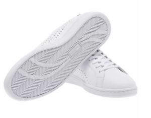 27561f467fe NEW  PUMA Men s Smash Perf C White Leather Sneakers Athletic Tennis ...