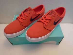 Details about NEW Nike SB Zoom Stefan Janoski Canvas 615957 642 Red Obsidian Shoe Size 10 New