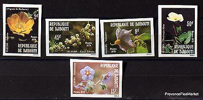 Motive 2019 Neuestes Design Dschibuti Briefmarken Neu Nicht Gezackt Blumen Blumen Flora 98m149 Briefmarken