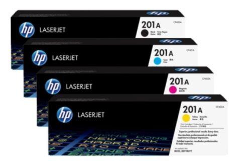 10 Virgin Empty HP CF400A CF401A CF402A CF403A Laser Cartridges 201A INTROS