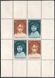 Suriname-postfris-1963-MNH-403-blok-Kind
