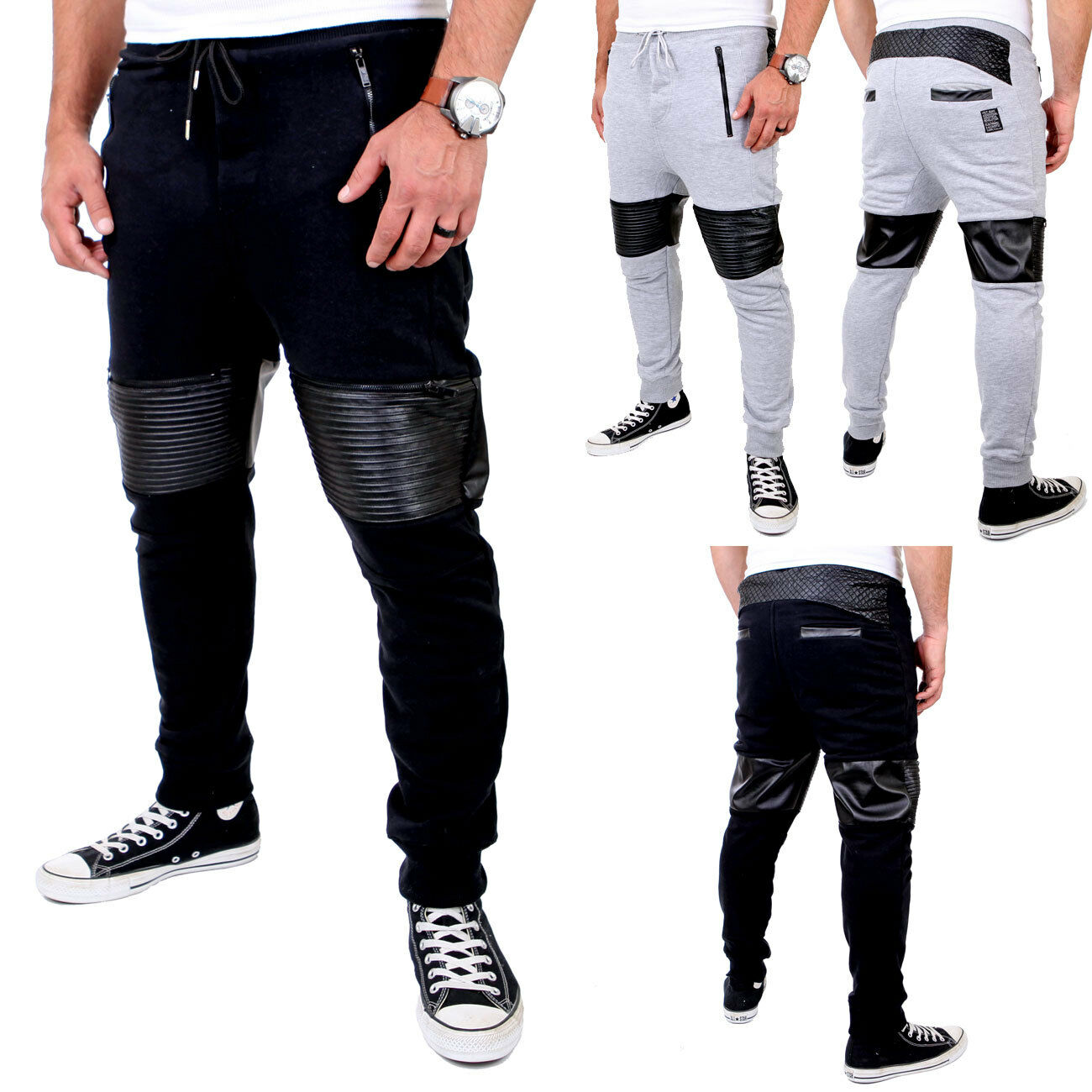 Vsct Clubwear jogging pantalon messieurs Faible Crougech Biker biceps Jogger v-5641434