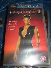 SPECIES 2 (II)  VHS HORROR VIDEO