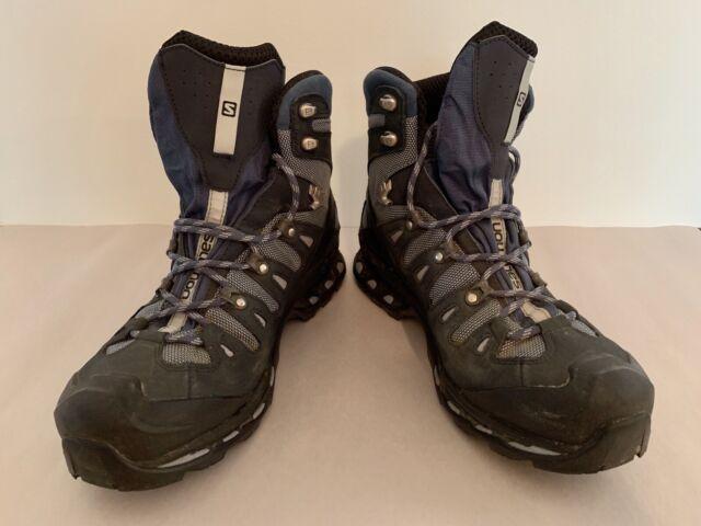 03786457492 Salomon Quest 4D II GTX Hiking Boots Women's 11 Deep Blue