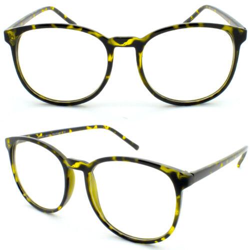 Marco Retro Carey Redondo Alto Para Mujeres Hombres Gafas De Lente Transparente 50s Círculo